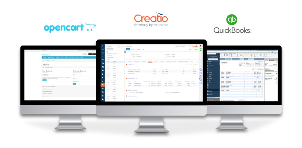 CRM Integration with OpenCart and QuickBooks